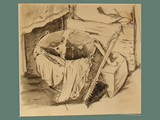 Drawing by Helga Wolfenstein of Cleaning Supplies at Theresienstadt